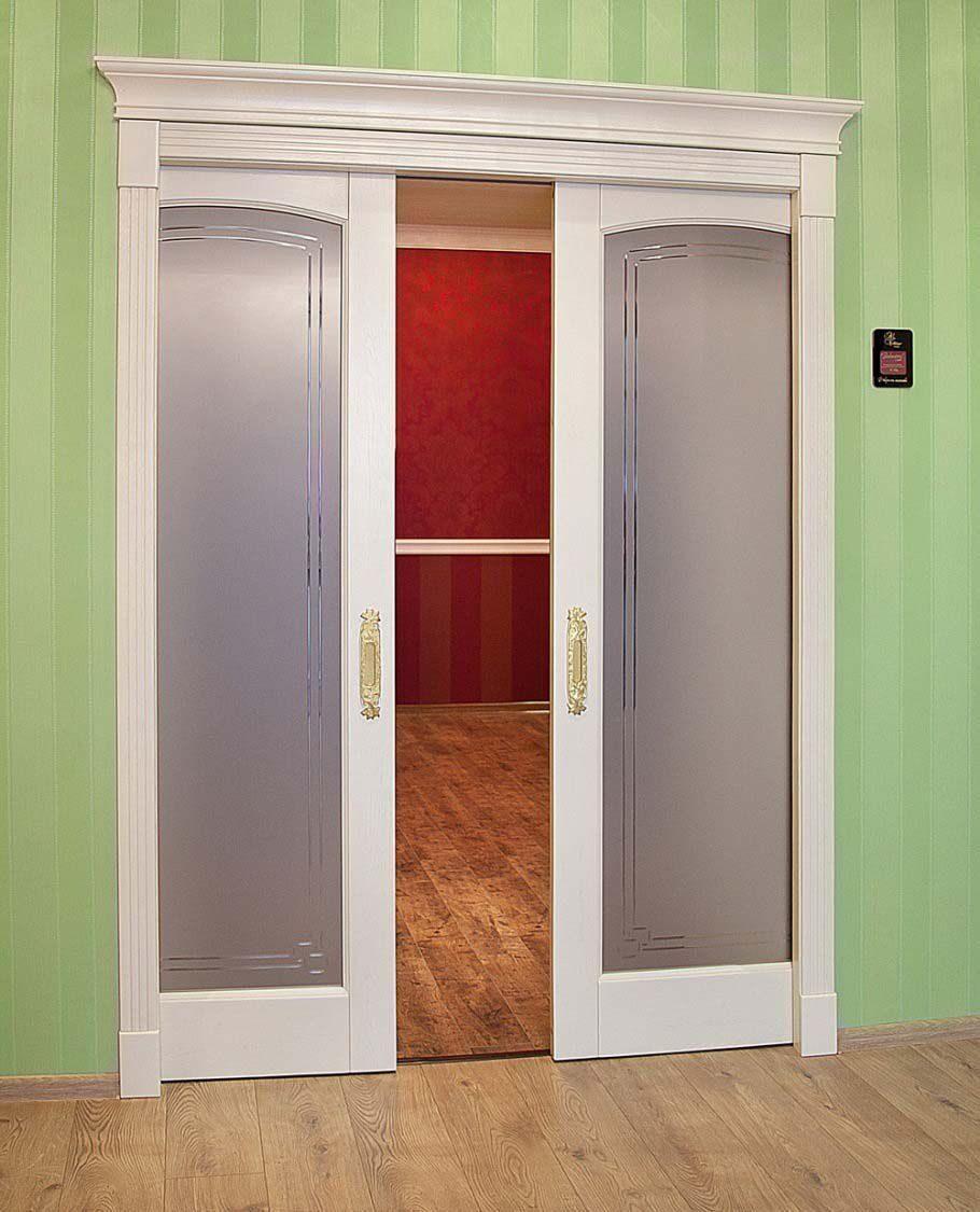 Как сделать дверь в проеме как купе